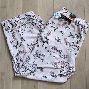 Alfani 20W Floral Vibrance Wide Leg Stretchy Pants